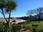 Tenby with stunning North Beach is just a short drive away
