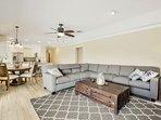Livingroom and Dinette Overview