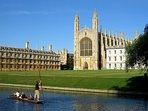 King's College Chapel, 15 minutes' walk away