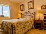The Pineapples and Palms bedroom has a picture postcard view of the beach and the golf course.  And check out the beach...