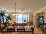 Admiral's Quarters, Boardwalk 1111 has absolutely stunning views, even from the kitchen!  Yes, this property really...