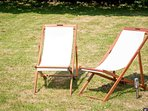 Relax and unwind in the sunshine