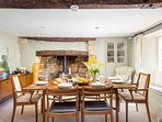 A great space for catching up with friends and family