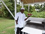 Champion chef Cleavey jerk champion of St Ann $30 USD per day please ask for details.