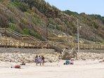 bajada playa El Ancla.