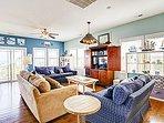 Living Room - Great Ocean Views