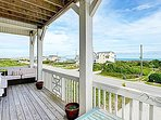 Front Covered Porch - Ocean Side