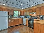 This fully equipped kitchen can handle your favorite recipes.