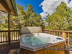 Views from the hot tub