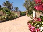 Jardín comunitario con otro acceso privado  directo a la playa