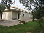 New home set in a peaceful environment among the olive grove.