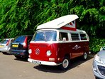 Get that Friday Feeling everyday! Book your fab Vintage VW Camper holiday today!