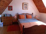 The cosy double bedroom