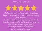 Another 5 star review - Our guests love it here!