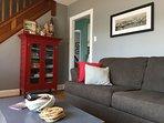 cozy living room area