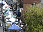 Lymington Saturday market