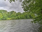 This property features 300 feet of river frontage!
