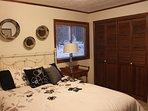 Bedroom #2. Queen bed & large closet.