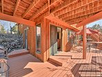 Soak up the sun on the expansive deck.