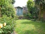 Lovely cottage garden