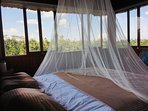 Bedroom with 270 degree view