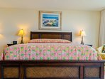 The Grandview Master Suite has a comfy king-sized bed with a foam mattress topper for added softness!  You'll feel like...