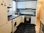 spacious and fully equiped kitchen