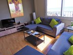 living / dining room, sofa-daybed