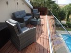 The new Sun Deck with its panoramic views