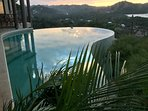 Infinity Pool and Sunsets!