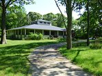 Frank Lloyd Wright Prairie Style Home on 4 Acres Wild Life Refuge