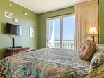 The Grand Lagoon Bedroom has a large flat-screen TV as well!