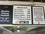 discount parking 1 block away