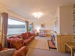 Sitting room with Panoramic views over Loch Sunart