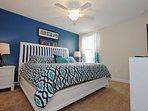 Second Floor King Bedroom w/En-Suite Bath & Flat Screen TV