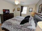 Second Floor King Bedroom w/En-Suite Bath & Flat Screen TV  - View #2