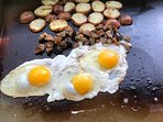 Breakfast on the Outdoor Griddle