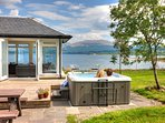 What a view from the hot tub!