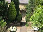 Star Cottage's front garden