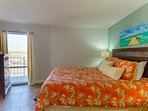 The Pier Palms master Suite has a flat screen TV with cable provided for our enjoyment.