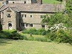 Countersett Hall, Yorkshire Dales manor house, sleeps 7, nr Askrigg & Hawes