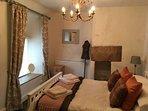 Delightful second floor bedroom with double bed
