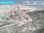 Downhill skiing at Skaidi Alpin! 2 km away.
