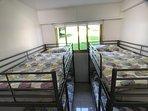 Third bedroom with 2 x bunk beds