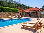 Enjoy this natural environment and privacy at huge property at Villa Delmati