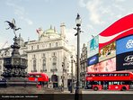Trafalgar Square, why travel by train when you can travel by bus and enjoy the sights tours.