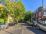 Camberwell once led from a Tudor manor house south to the top of a hill, affording a city view.