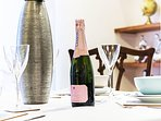 Relax and enjoy a scrumptious glass of the very finest champagne.