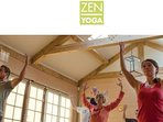 Fancy a spot of Zen Yoga, step outside your door and reconnect with yourself,life and around you.