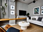 Stylish living room.